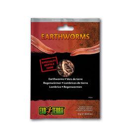 Exo Terra Exo Terra Reptile Food Earthworms 15g