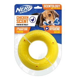 Nerf Nerf Dog Scentology Large Ring  Chicken Scent 15cm (6in)