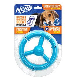 Nerf Nerf Dog Scentology Orbit Ring Bacon & Peanut Butter Scent Light Blue 16.5cm (6.5in)