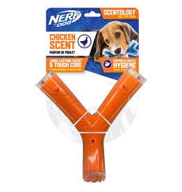 Nerf Nerf Dog Scentology Wishbone Chicken Scent Orange 21cm (8.3in)