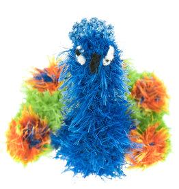 Oomaloo Handmade Squeaky Toy Peacock Medium