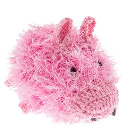 Oomaloo Handmade Squeaky Toy Pig Large