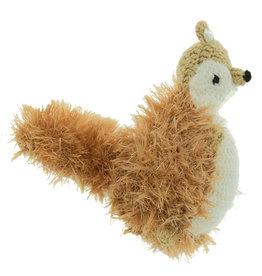 Oomaloo Handmade Squeaky Toy Squirrel Medium