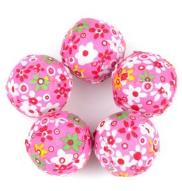 Wonpet Floral Rattle Ball