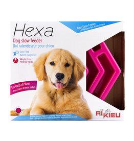 Aikiou Hexa Slow Feeder Pink