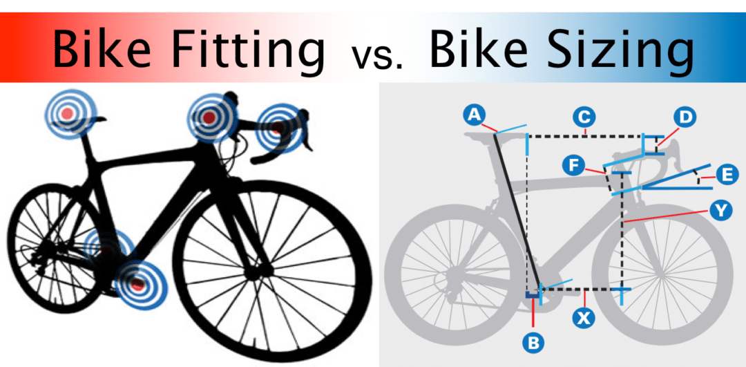 BIKE FIT VS BIKE SIZING