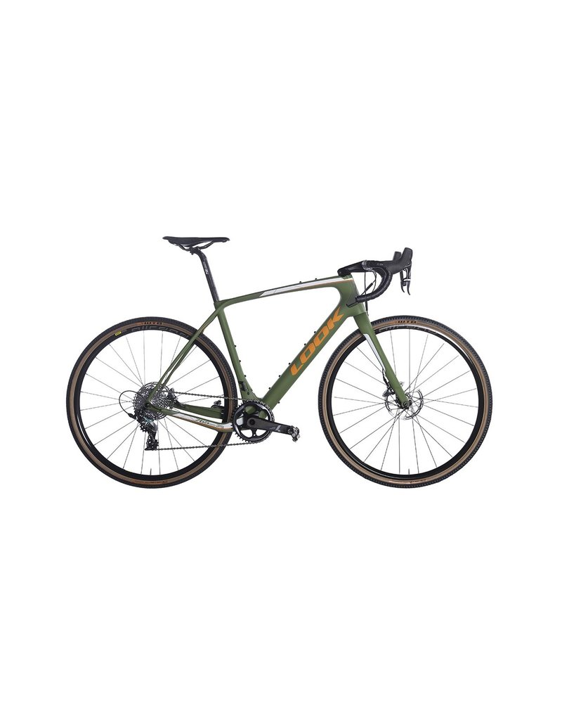 LOOK 765 GRAVEL RS DISC MATTE GRN FORCE 1X COMP