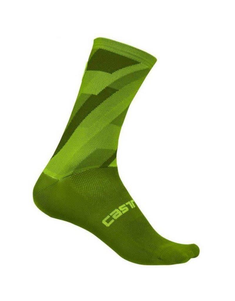 Castelli Geo 15 Sock -pro green -2XL