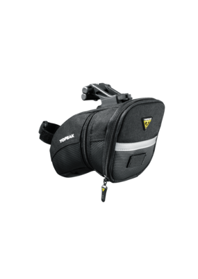 Topeak Topeak Aero Wedge Seat Bag - QuickClick, Medium, Black