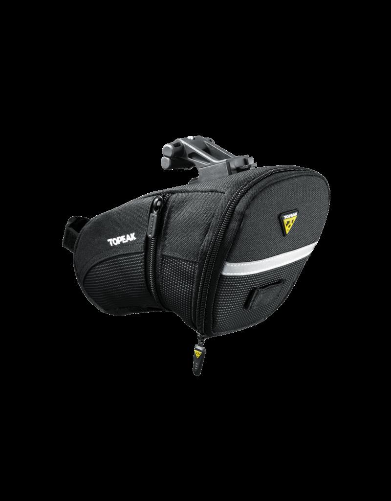 Topeak Topeak Aero Wedge Seat Bag - QuickClick, Large, Black