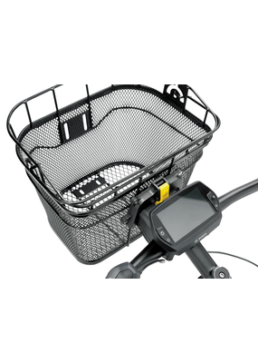 Topeak Topeak Front Basket with Fixer 3 Handlebar Bracket: Black