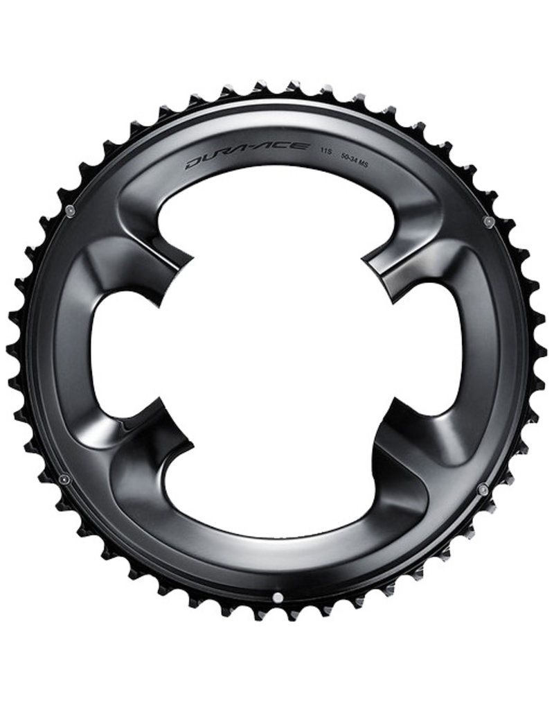 SHIMANO AMERICAN CORP. FC-R9100 Chainring 52T-MT for 52-36T