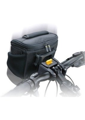 Topeak Topeak Compact Handlebar Bag/Fanny Pack with Fixer 8, Black