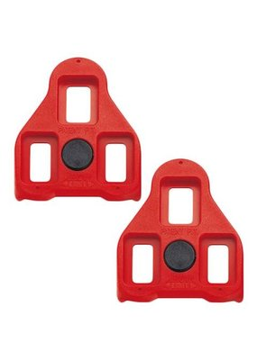 Exustar ARC 1 Look Delta Cleats, 9 Degree Red