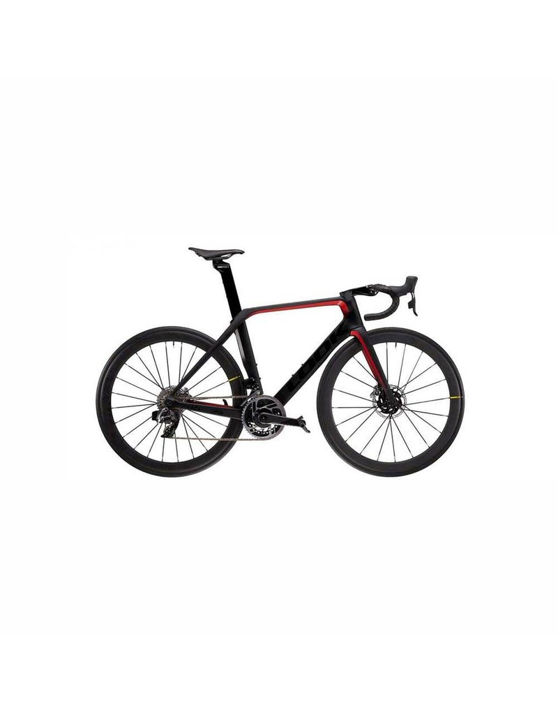 LOOK 795 BLADE RS DISC BLACK/RED GLOSS MAT RED ETAP COSMIC PRO M