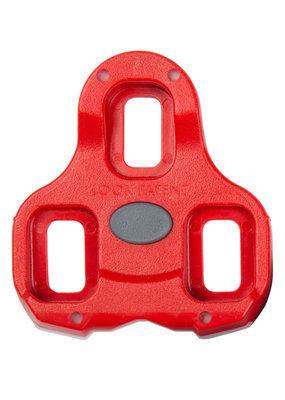 LOOK LOOK KEO Cleat - 9 Degree Float, Red