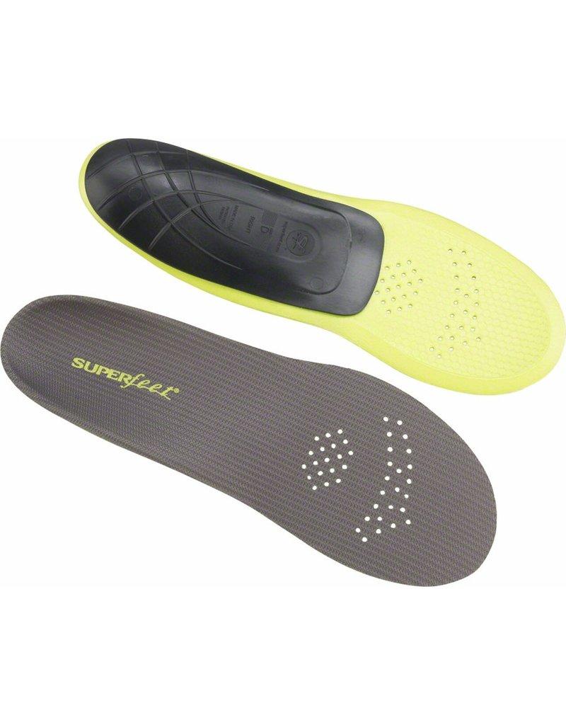 Superfeet Superfeet Carbon Foot Bed Insole: Size D (Men 7.5-9, Women 8.5-10)