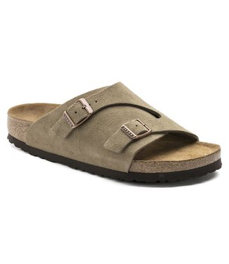 Birkenstock Zurich Soft Footbed Suede Leather