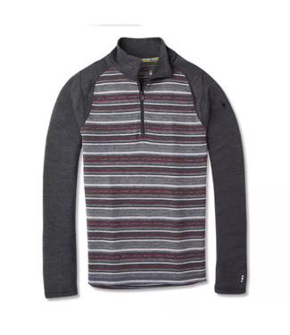 Smartwool Merino 250 Baselayer Pattern 1/4 Zip LS Top