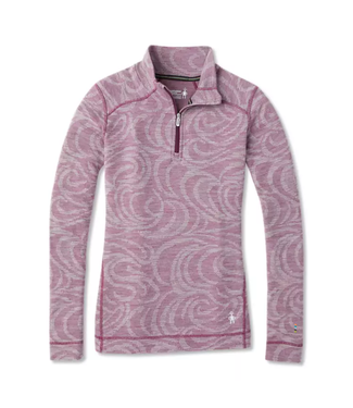 Smartwool W's Merino 250 Baselayer Pattern 1/4 Zip LS Top