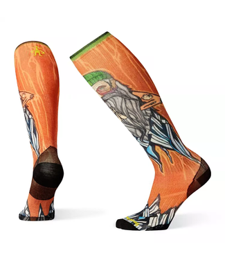 Smartwool PhD Ski Ultra Light Print Sock