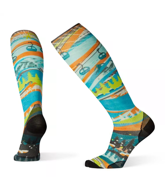 Smartwool PhD Ski Ultra Light 25 Print Sock