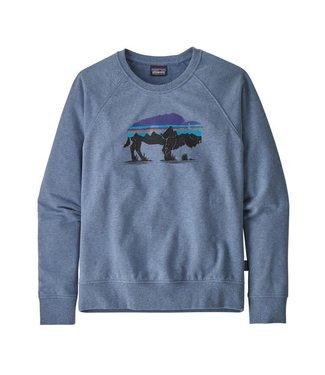 Patagonia W's Fitz Roy Bison Ahnya Crew Sweatshirt