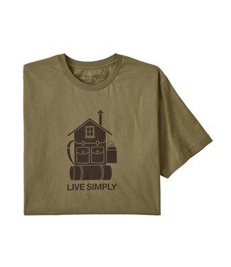 Patagonia Live Simply Home Organic T-Shirt