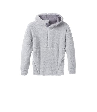 prAna W's Permafrost 1/2 Zip Hooded Fleece