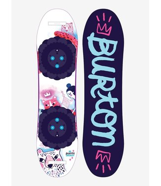 Burton Girl's Chicklet Flat Top Snowboard