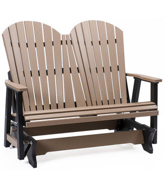 Berlin Gardens Comfo Back Double Glider - Natural Finish
