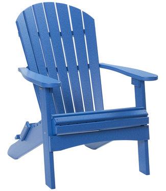 Berlin Gardens Comfo Back Folding Adirondack Chair Tropical