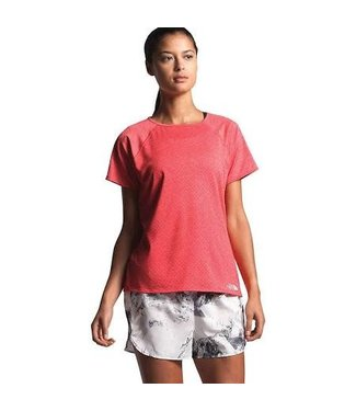 The North Face W's Active Trail Jacquard Short Sleeve Top