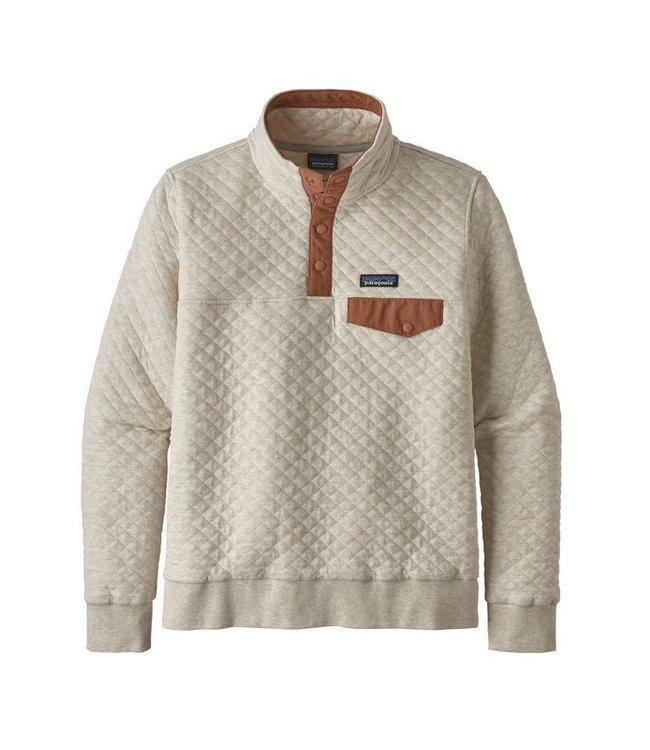 Patagonia W S Organic Cotton Quilt Snap T Pullover