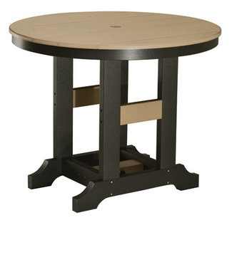 "Berlin Gardens Garden Classic 38"" Round Table (Bar Height) - Natural Finish"