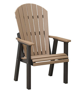 Berlin Gardens Comfo Back Deck Chair Natural Finish