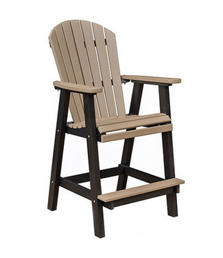 Berlin Gardens Comfo Back Bar Chair Regular Finish