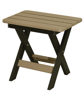 Berlin Gardens Folding End Table Regular Finish