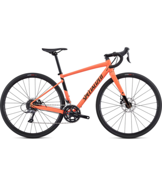 Specialized W's Diverge E5 Gloss Acid Lava/Black 52