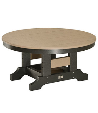 "Berlin Gardens 38"" Round Conversation Table  - Regular Finish"