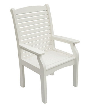 Berlin Gardens Classic Terrace Dining Chair Natural Finish