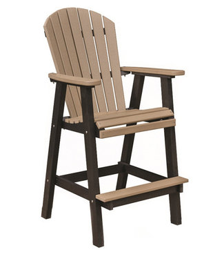 "Berlin Gardens Comfo Back 30"" XT Chair Natural Finish"
