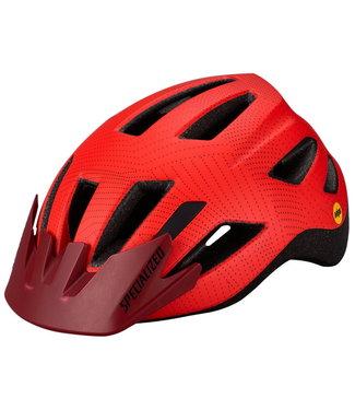 Specialized Shuffle LED SB MIPS Child Helmet Rocket Red/Crimson Dot Plane