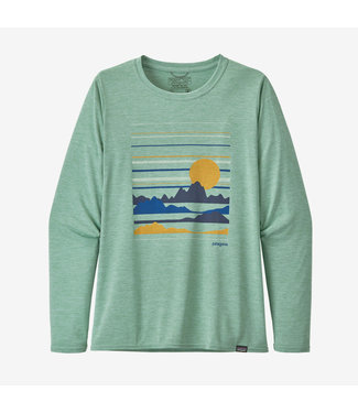 Patagonia W's Capilene Cool Daily Graphic Long Sleeve Shirt