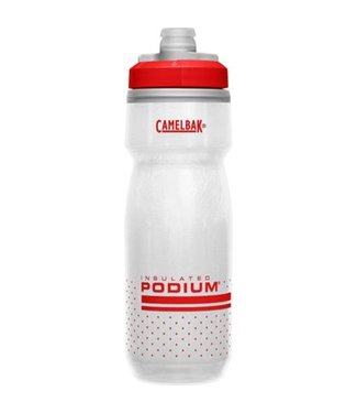 Camelbak Podium Chill 21oz Fiery Red/White