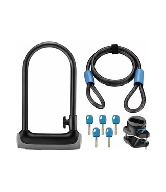 Giant SureLock Protector 2 DT U-Lock & Cable 115mm x 230mm