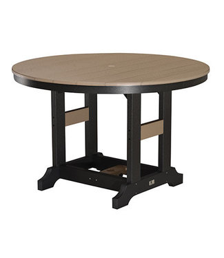 "Berlin Gardens Garden Classic 48"" Round Table (Bar Height) - Natural Finish"