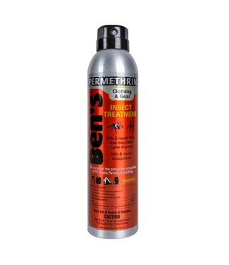 Ben's Permethrin Clothing & Gear Insect Repellent 6oz