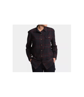 The North Face W's Berkeley Long Sleeve Boyfriend Shirt