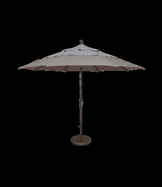 Treasure Garden 9' Collar Tilt Umbrella Grade A